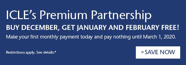 ICLE's Premium Partnership | Buy December, Get January and February Free!